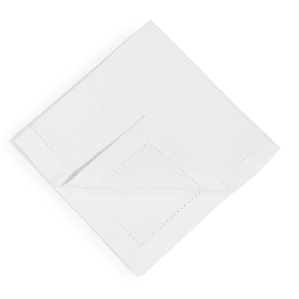 4 serviettes en coton écru 40 x 40 cm
