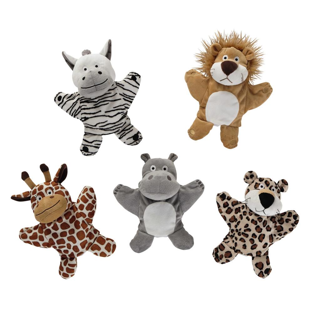 5 marionnettes animaux
