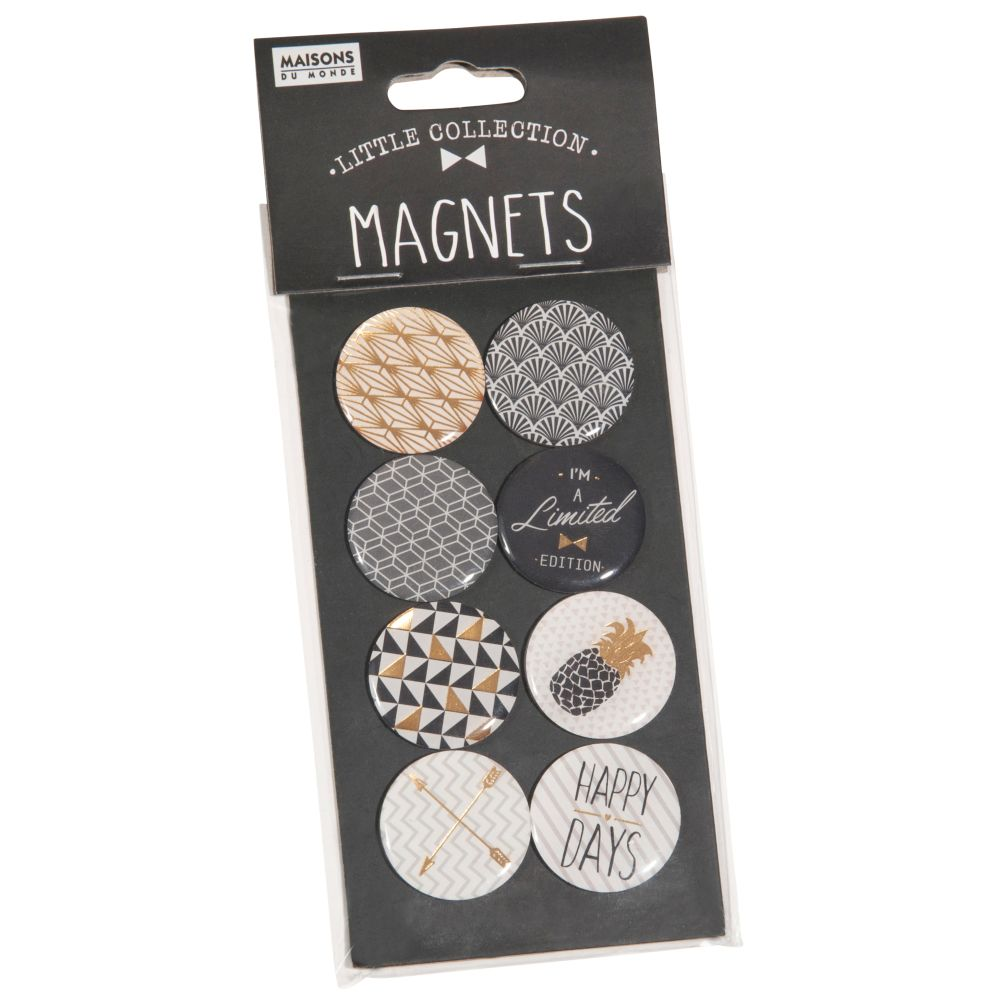 8 magnets