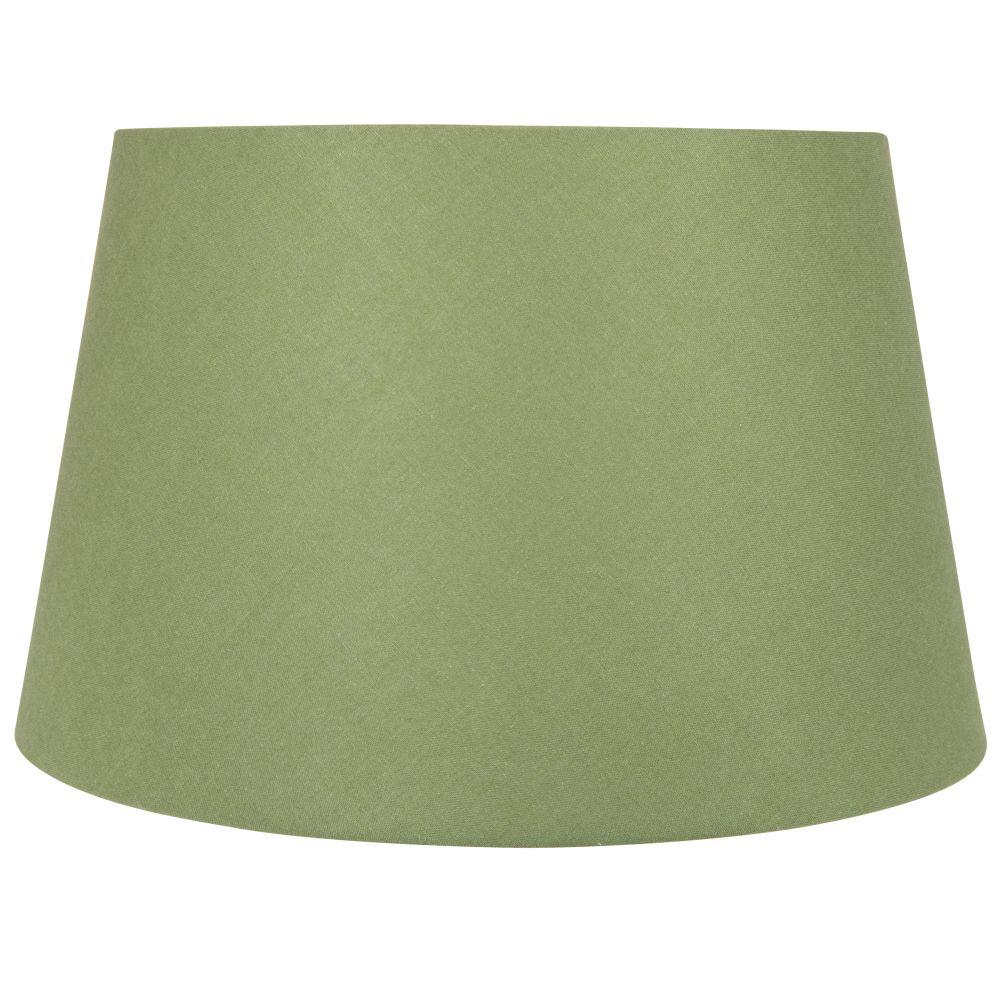 Abat-jour en coton vert