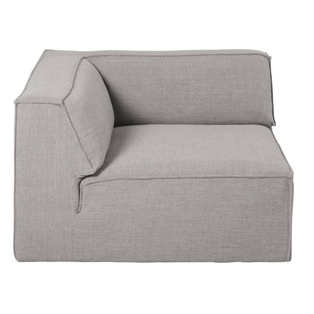 Angle pour canapé modulable gris