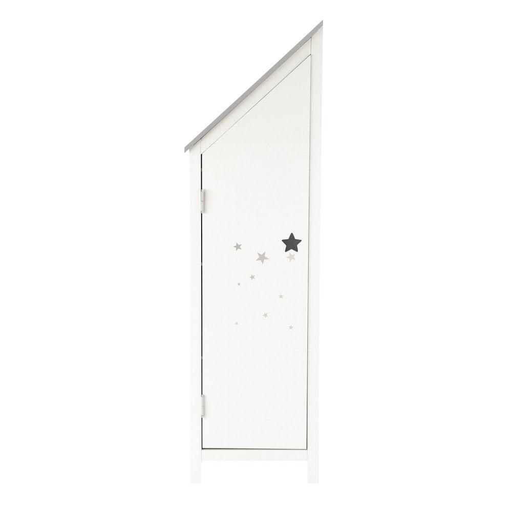 Armoire 1 porte blanche