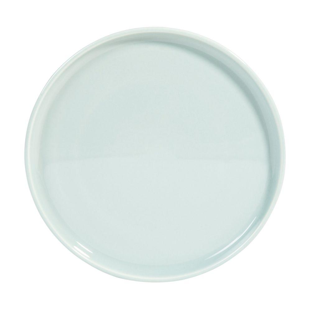 Assiette à dessert en faïence bleue D 21 cm