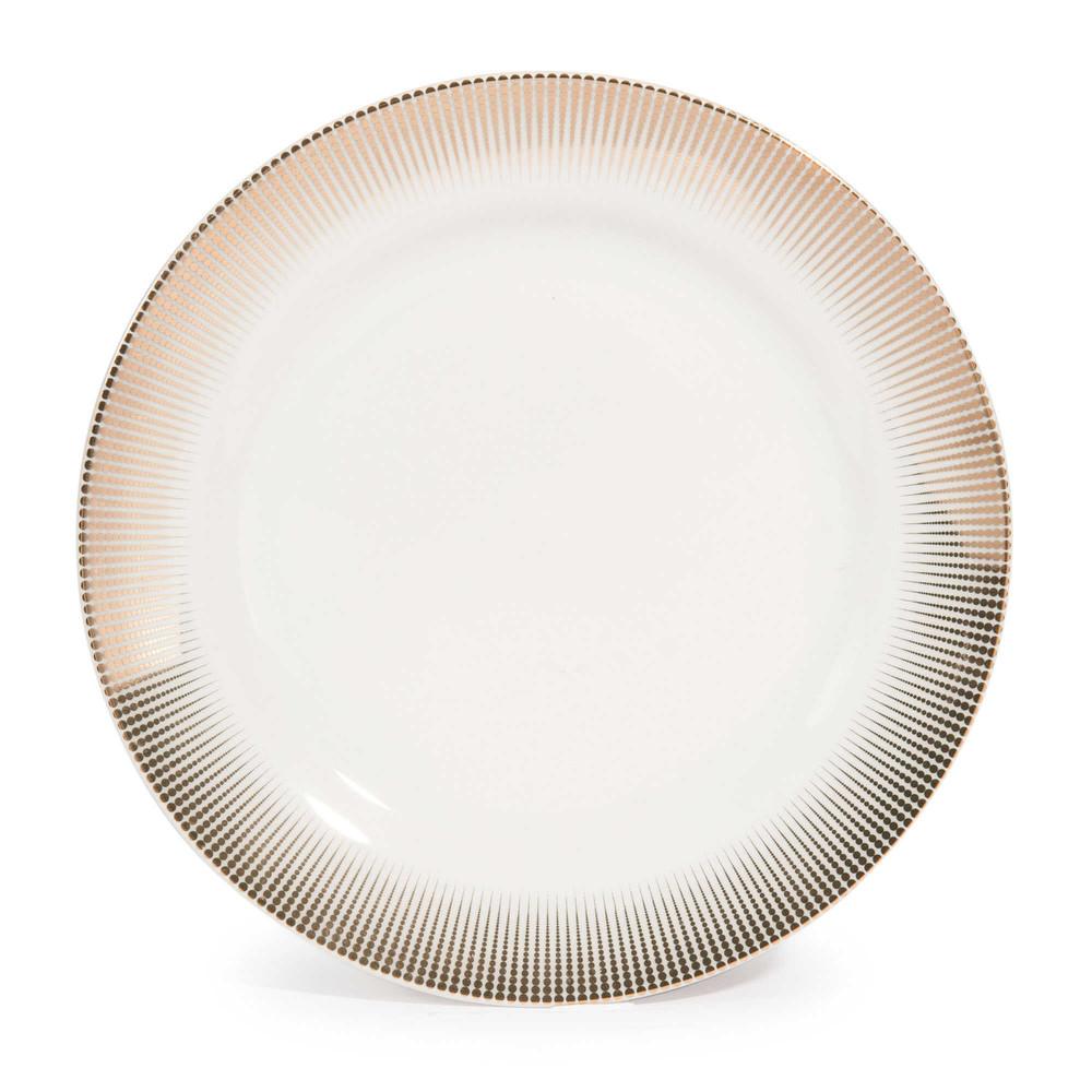 Assiette à dessert en porcelaine D 19 cm