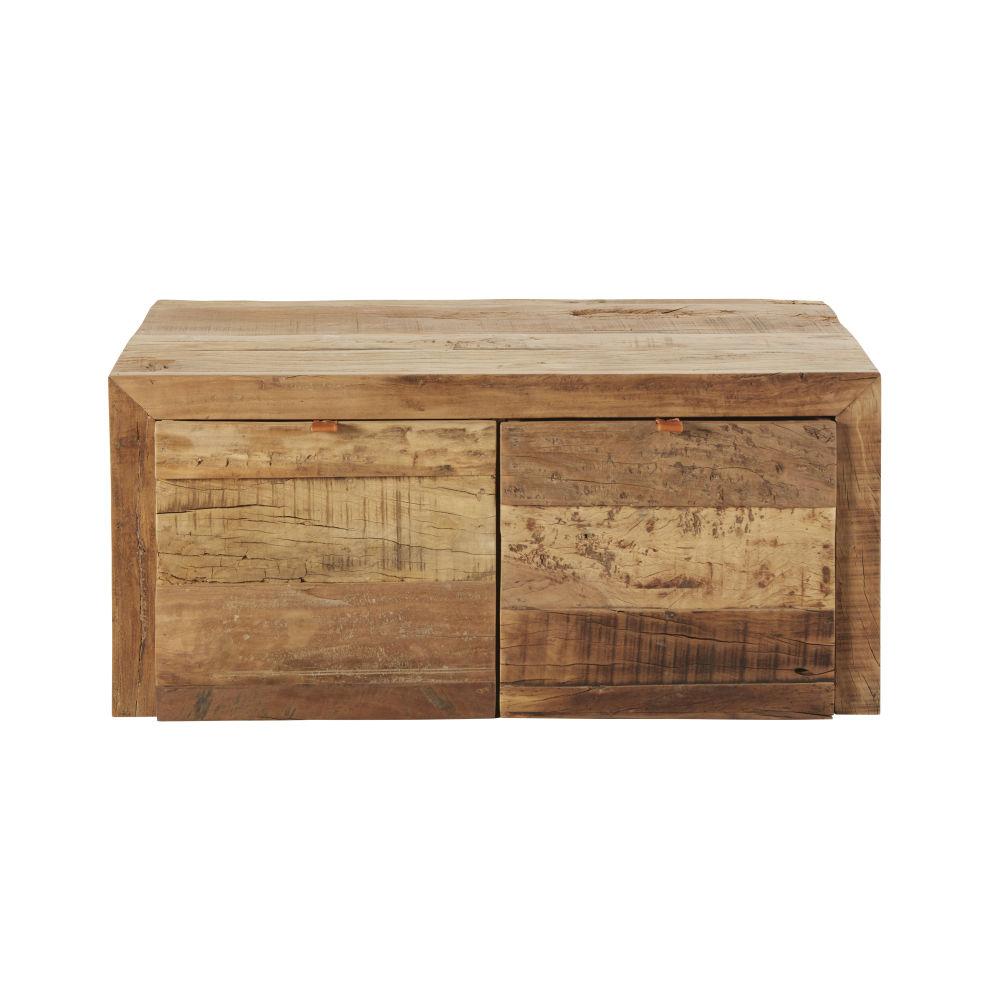 Banquette 2 places en bois recyclé