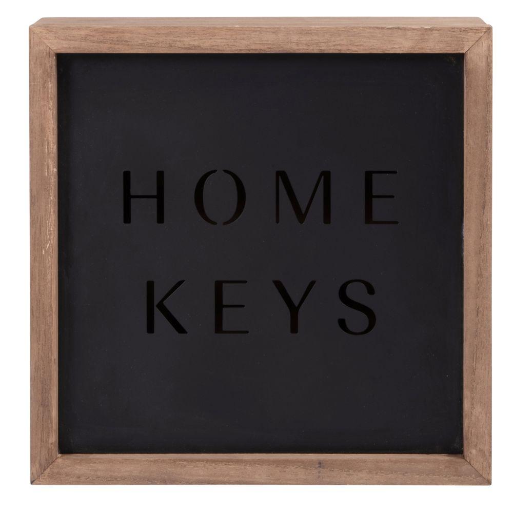 Boîte à clés bicolore