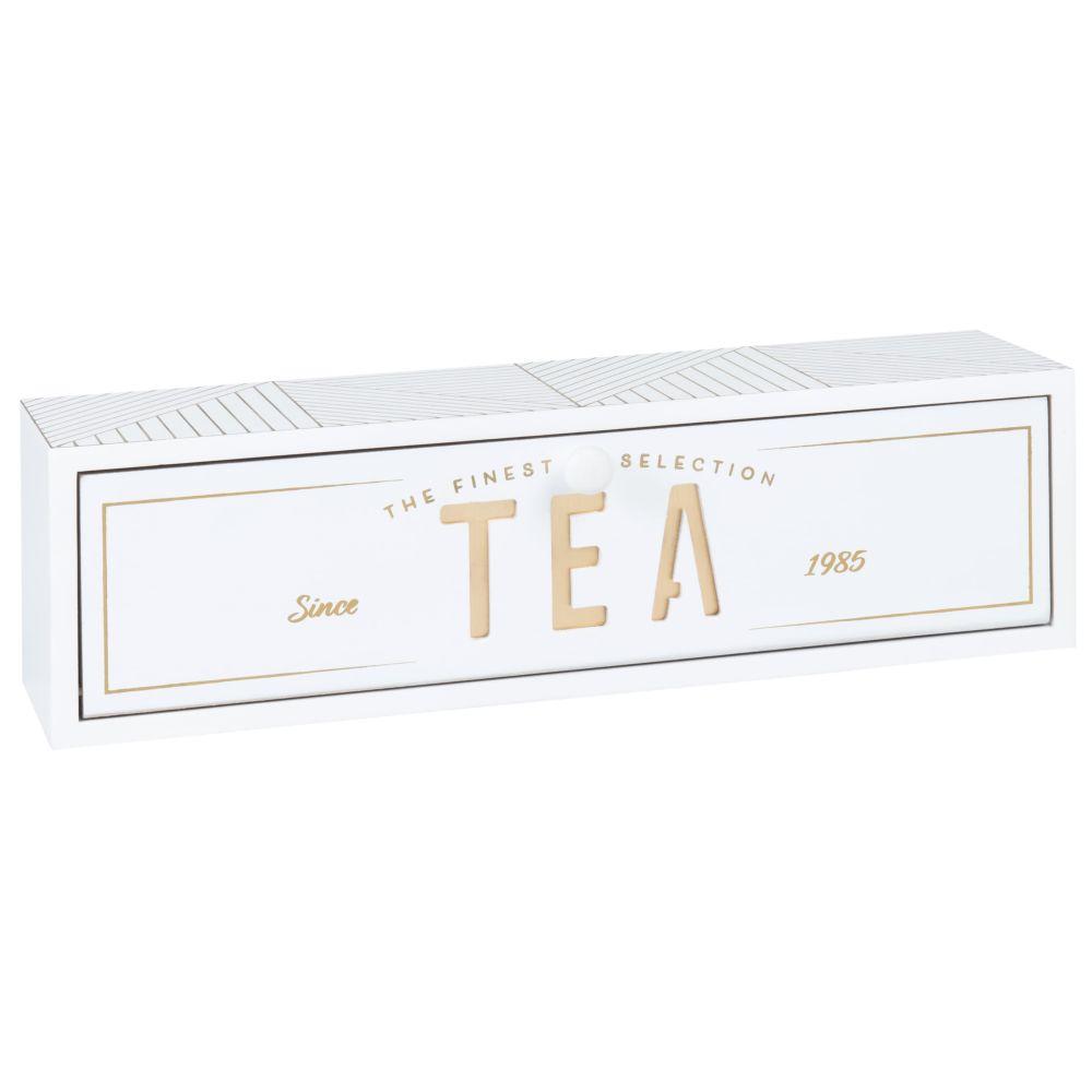 Boîte à thé en eucalyptus