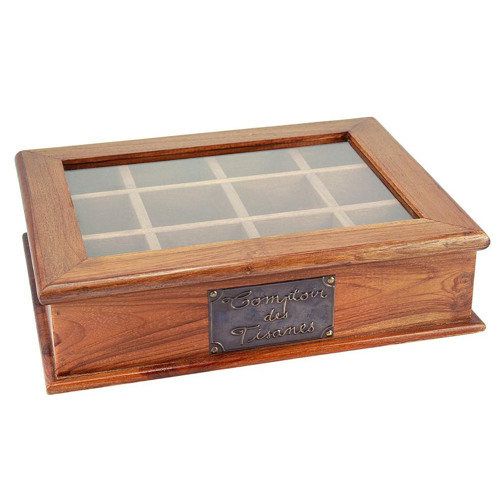 Boîte à tisanes 26x34