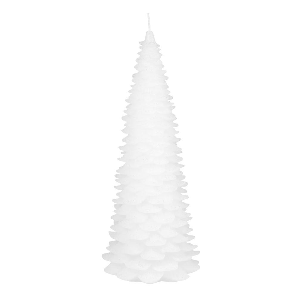 Bougie sapin blanc H28