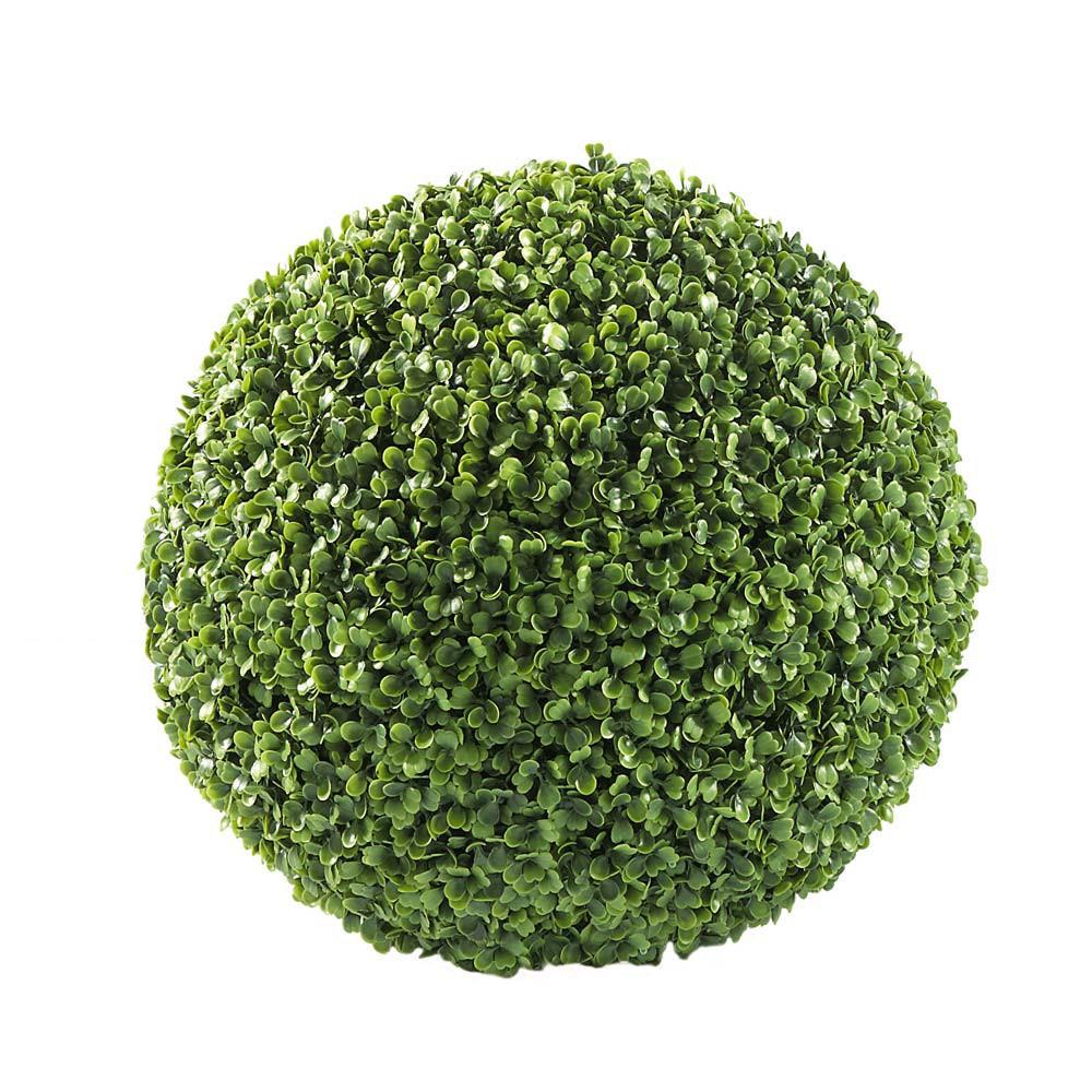 Boule de buis artificielle D 35 cm