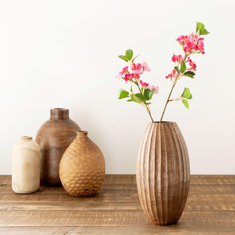 Branche d'hortensia artificielle fuchsia