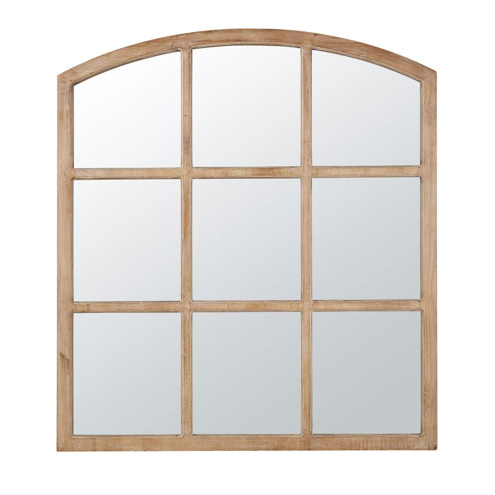 Bruine Spiegel 117 X 130 Cm