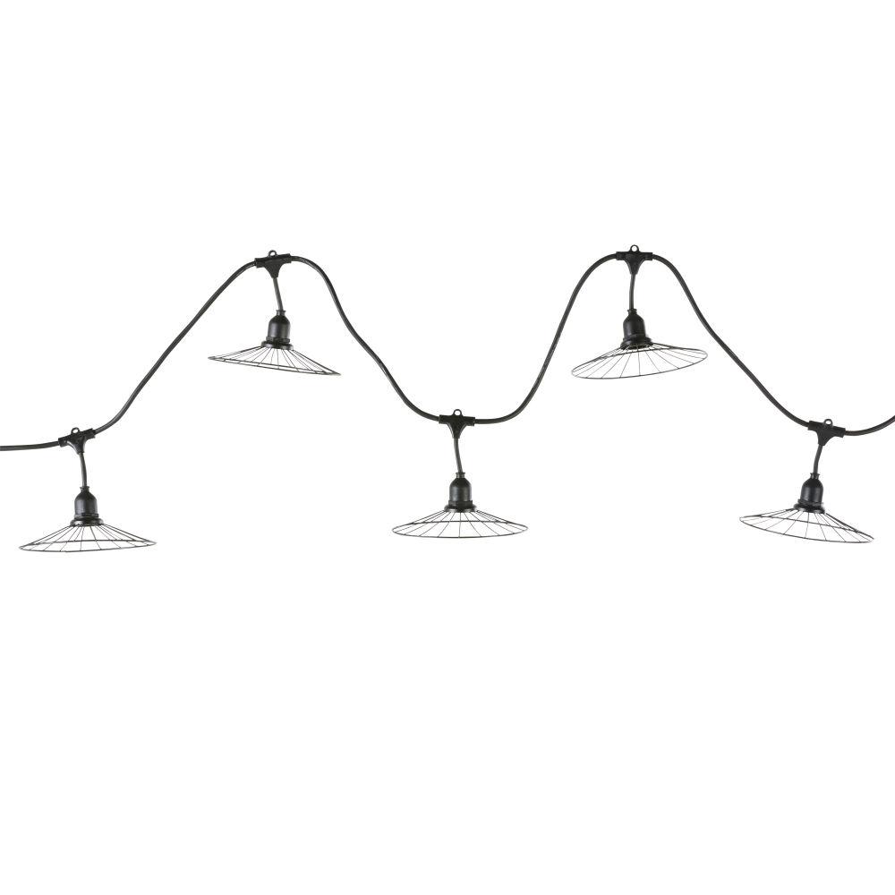 Buitenlichtslingers Met 10 Parasolletjes Met Ledlampjes L596