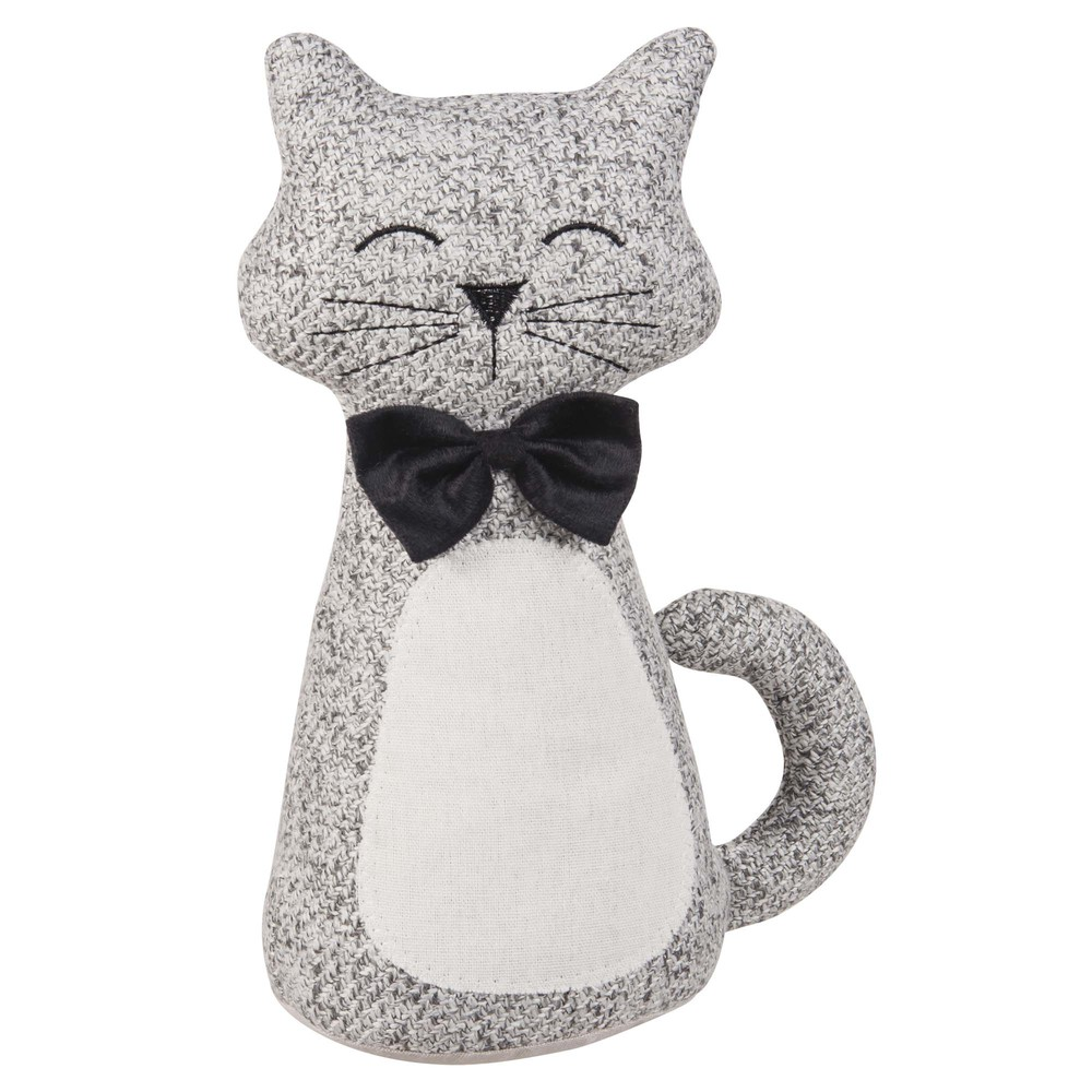 Cale-porte chat en tissu