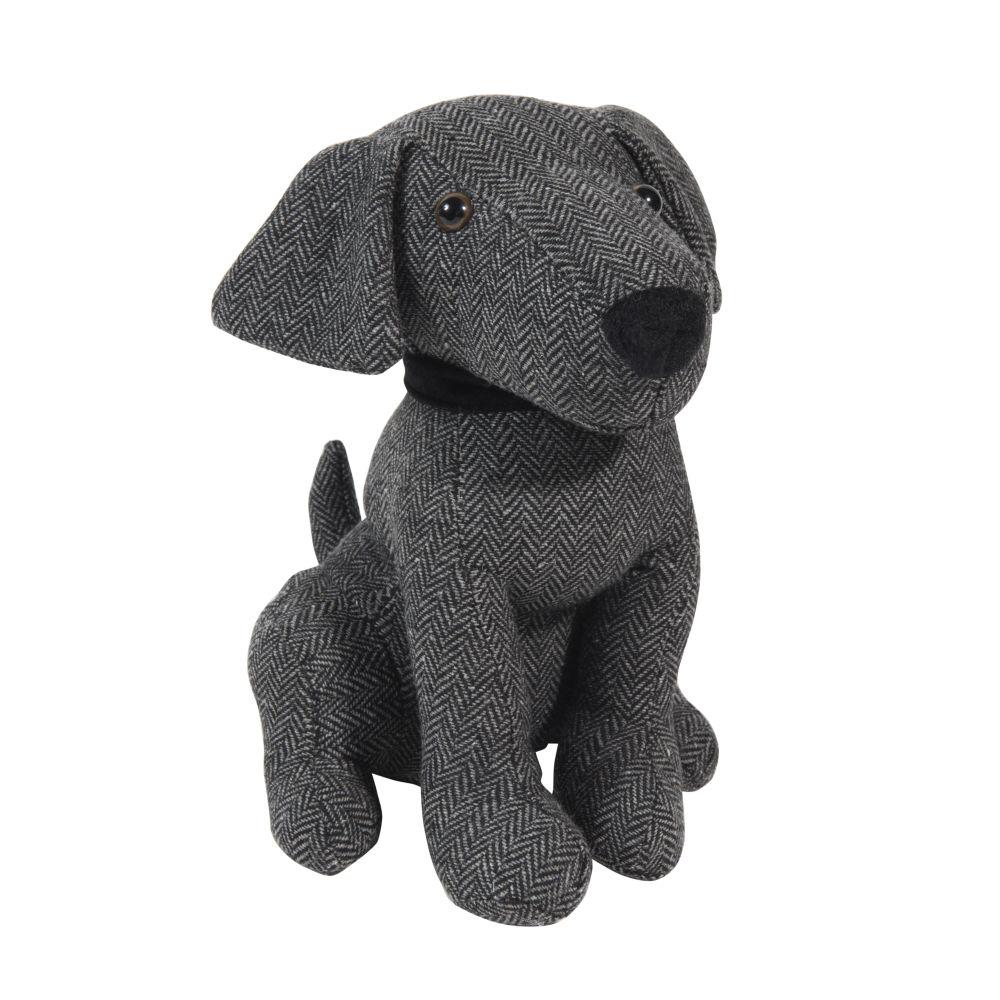 Cale-porte chien en tissu H 28 cm