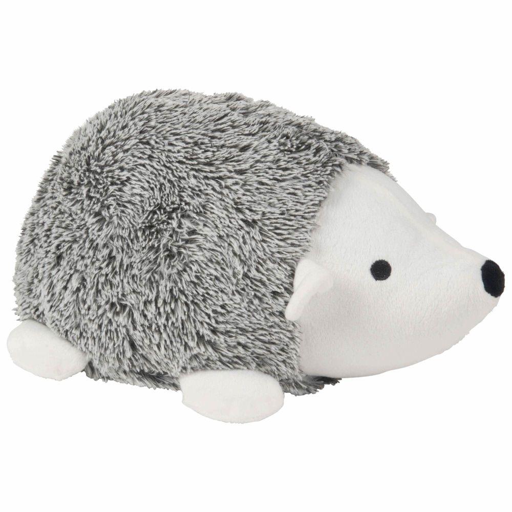 Cale-porte hérisson gris et blanc