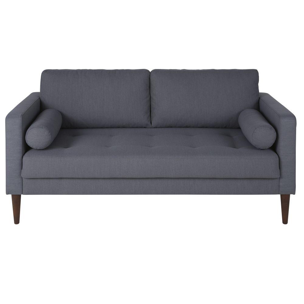 Canapé 2/3 places gris anthracite