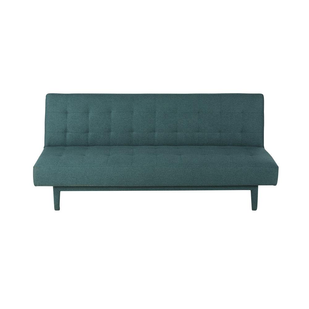Canapé-lit 2/3 places vert