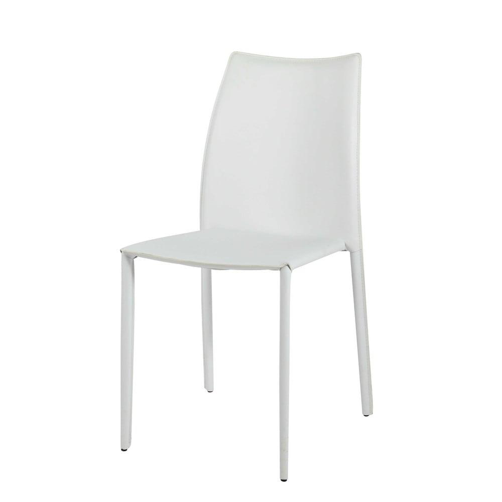 Chaise en synderme blanc