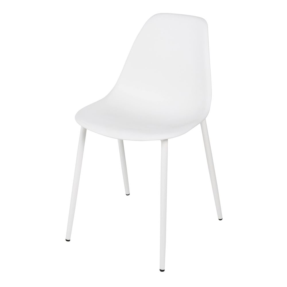 Chaise enfant style scandinave blanche