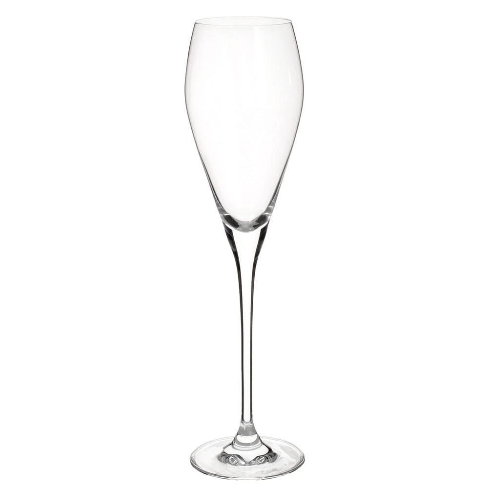 Champagnerflöte aus Glas