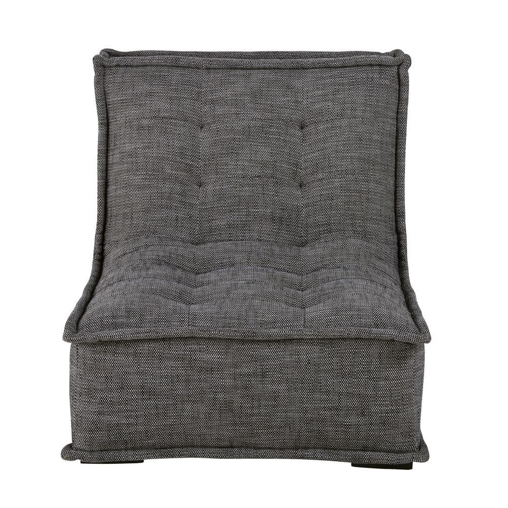 Chauffeuse de canapé gris charbon