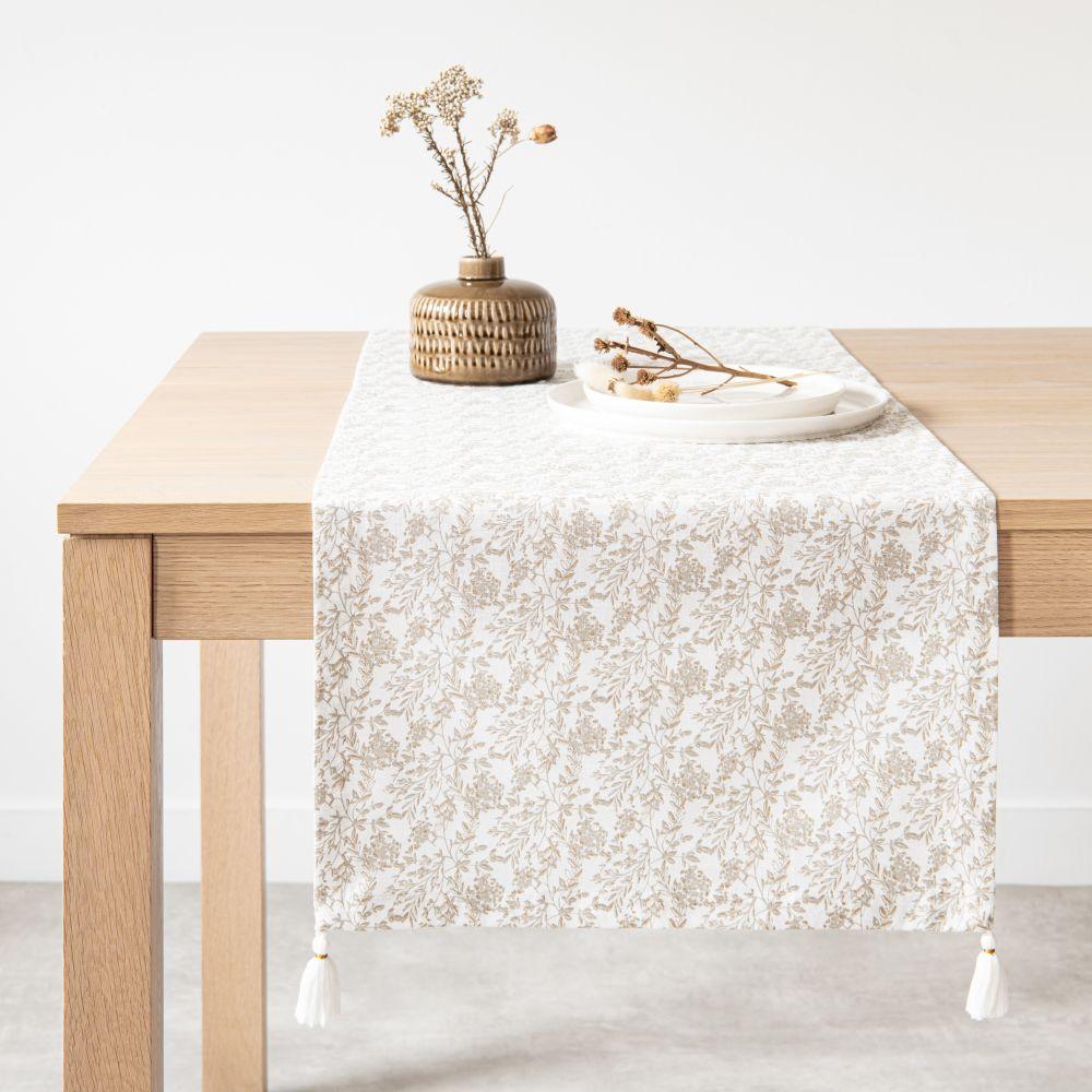 Chemin de table en coton 45x150