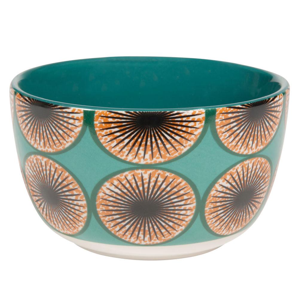 Picture of item Bamako - Blue bowl in majolica