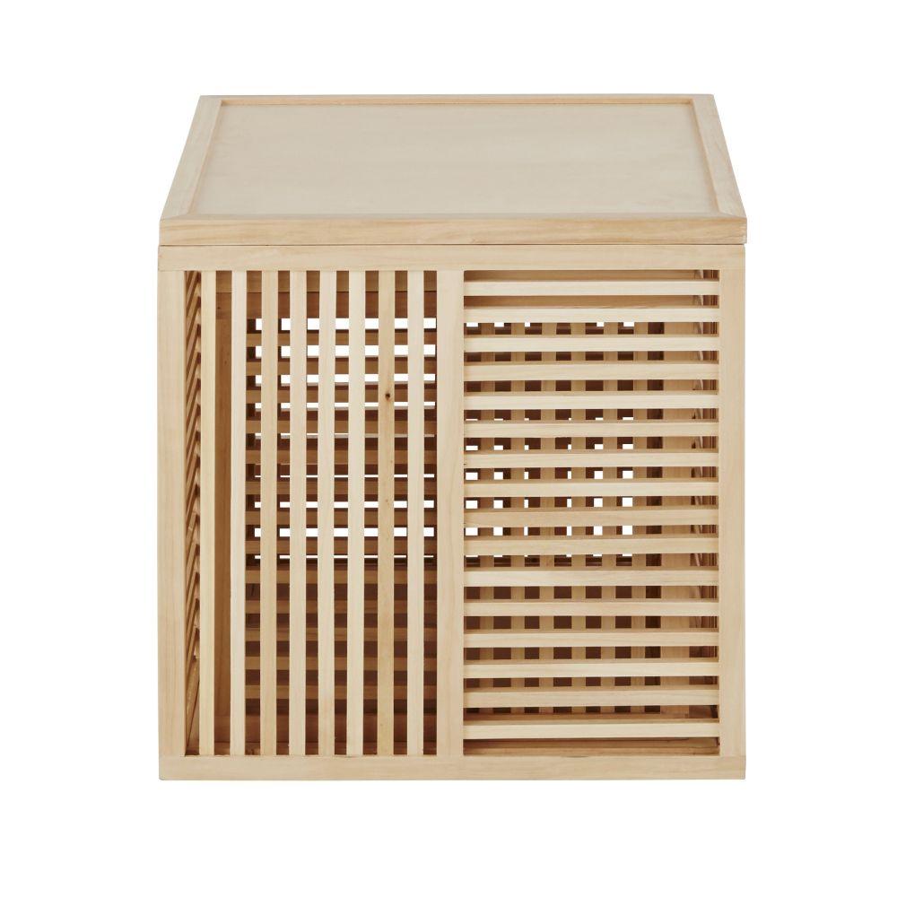 Coffres en pin ajouré (x2)