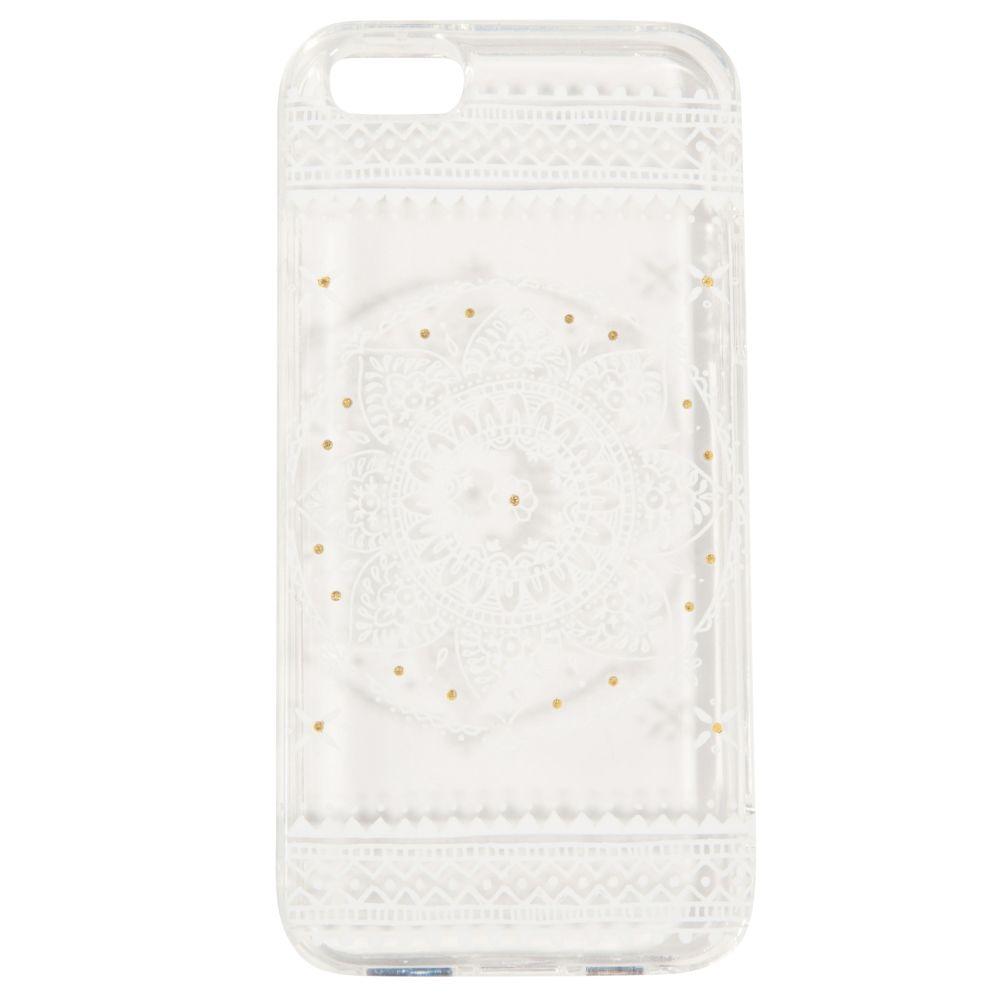 Coque rigide transparente pour iPhone 5