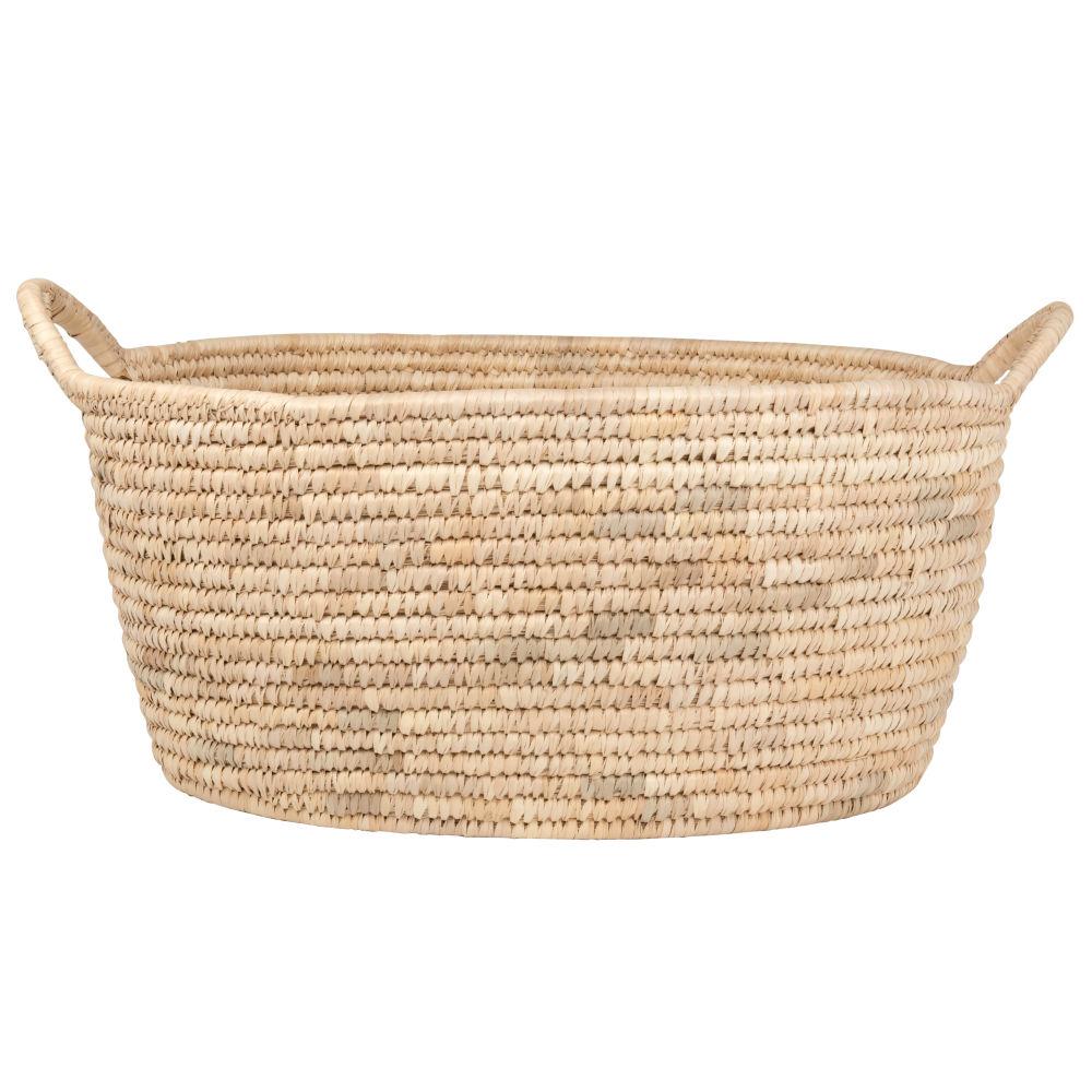 Couffin en fibre de palmier
