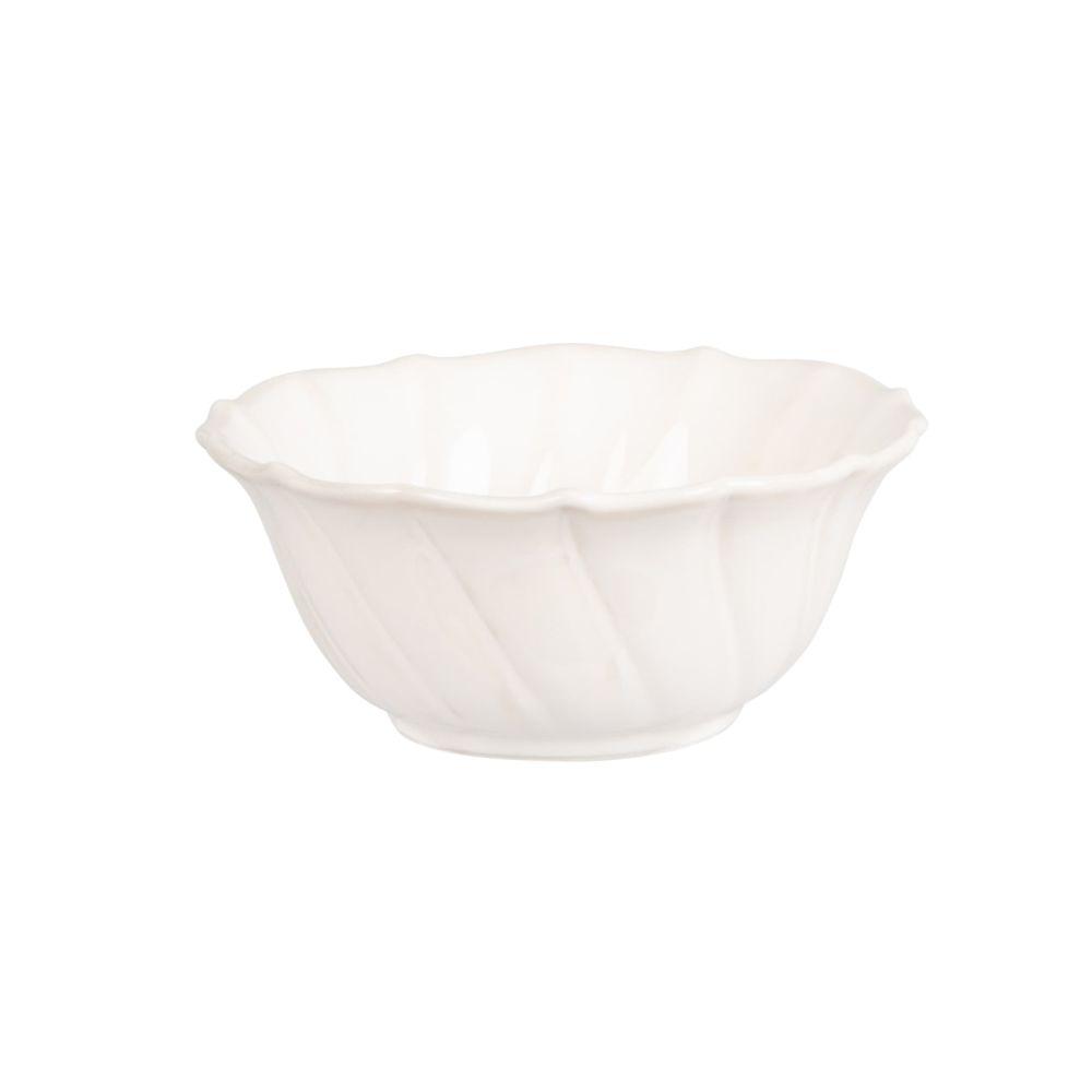 Coupelle en porcelaine blanche D12