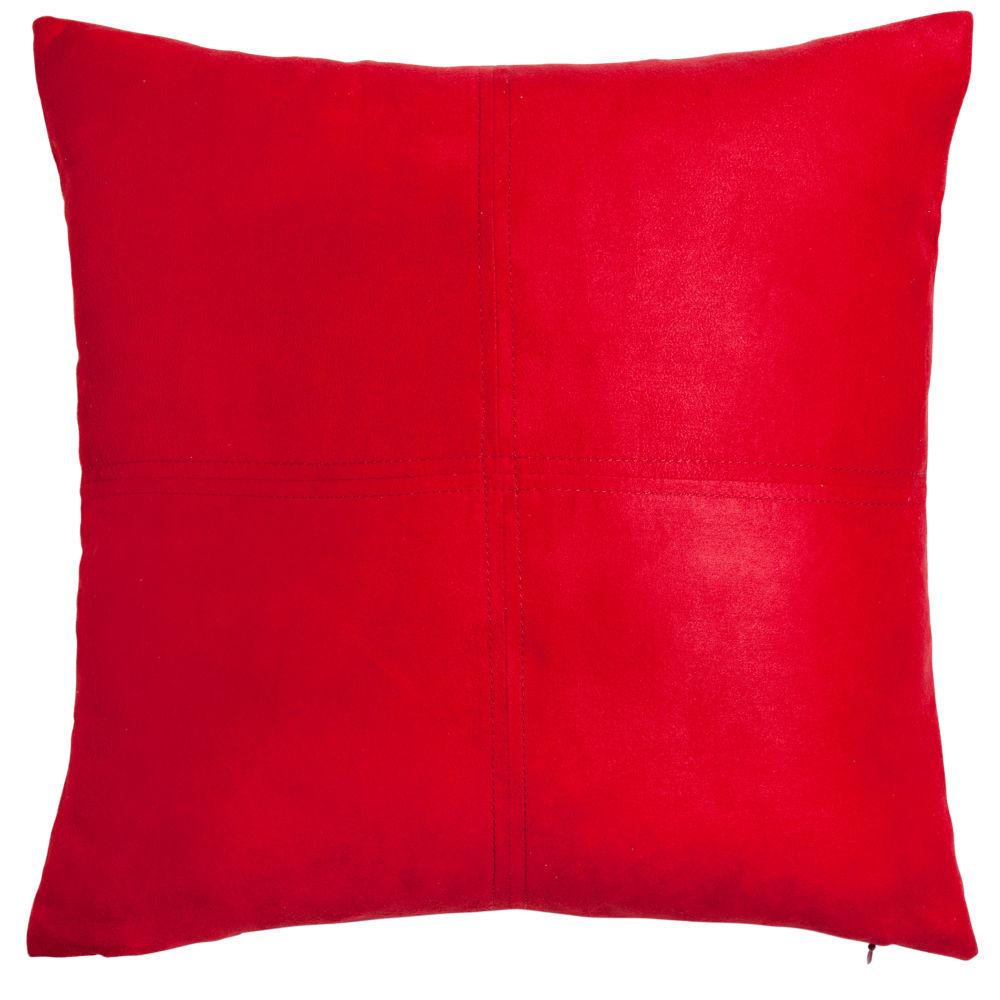 Coussin de Noël rouge 60x60
