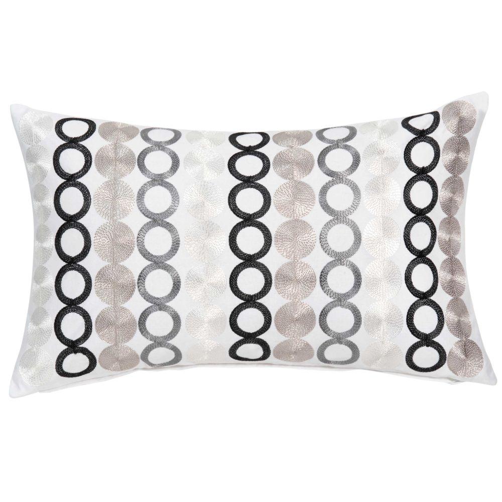 Coussin en coton à motifs 30x50