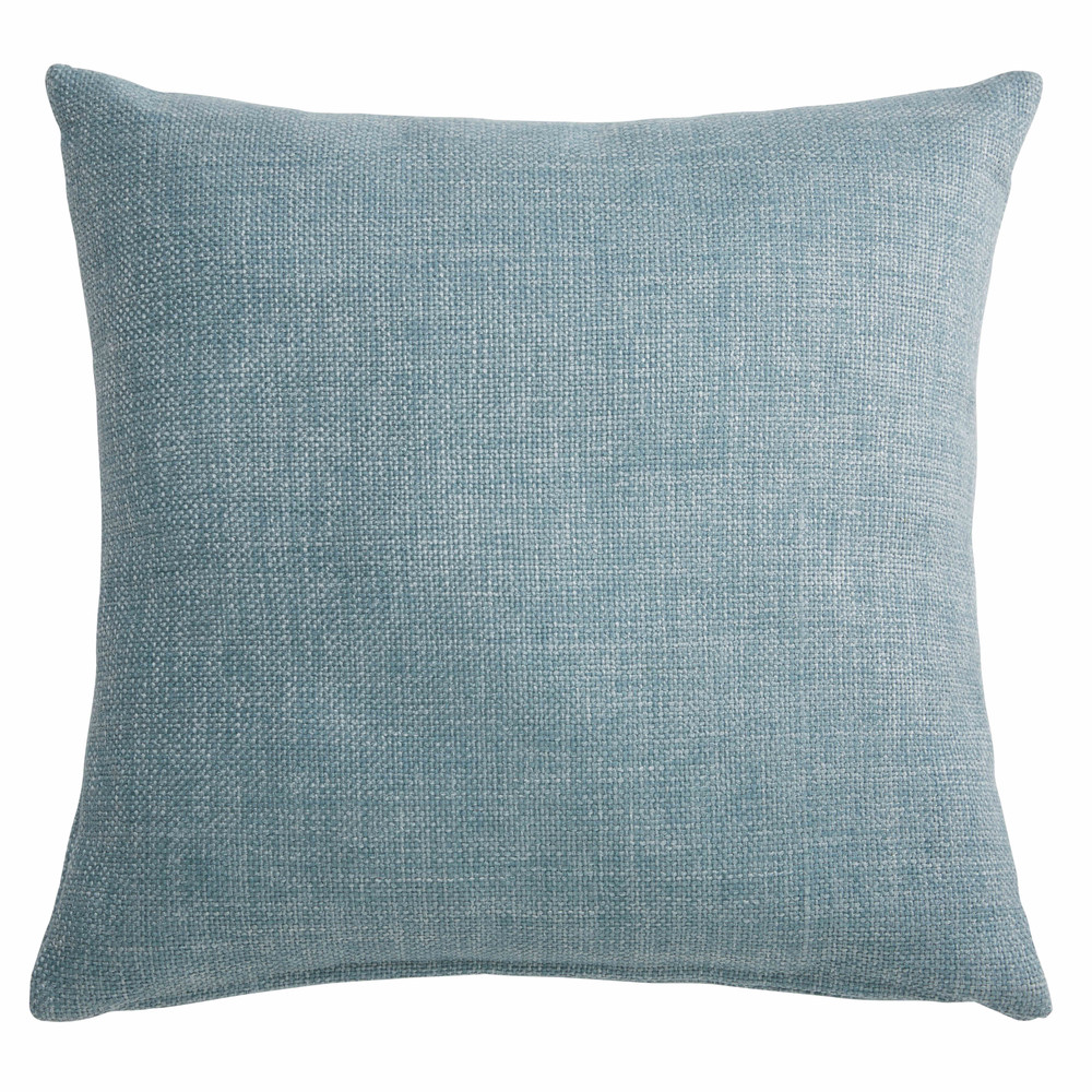 Coussin en tissu bleu 45x45cm