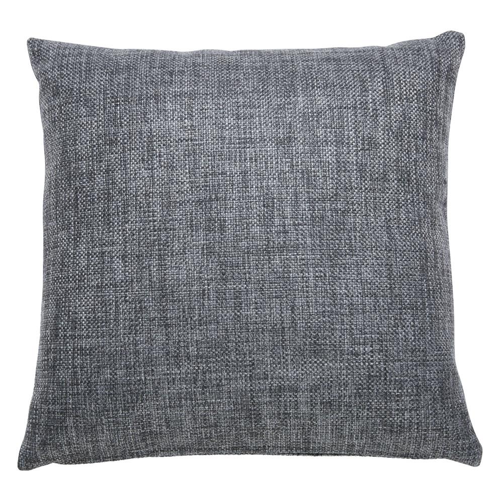 Coussin en tissu gris 45x45cm