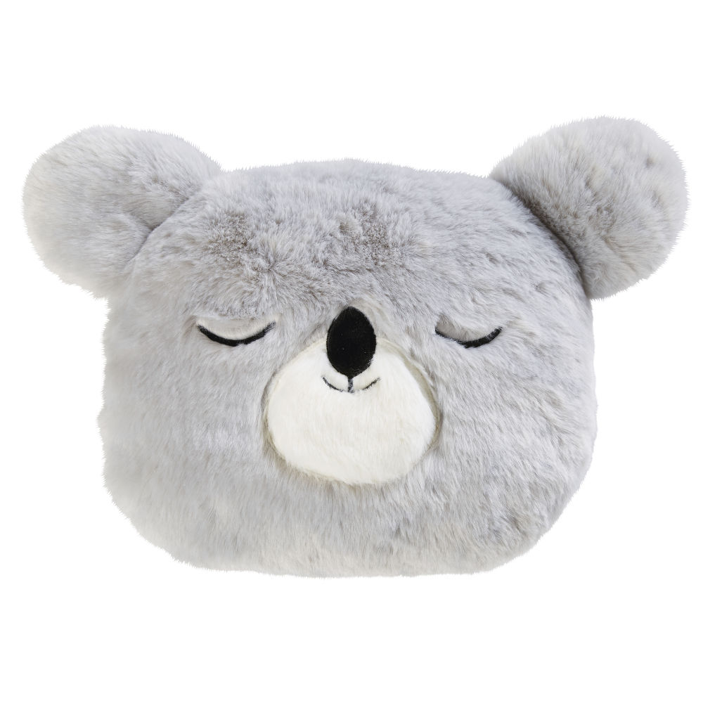 Coussin koala gris 30x35