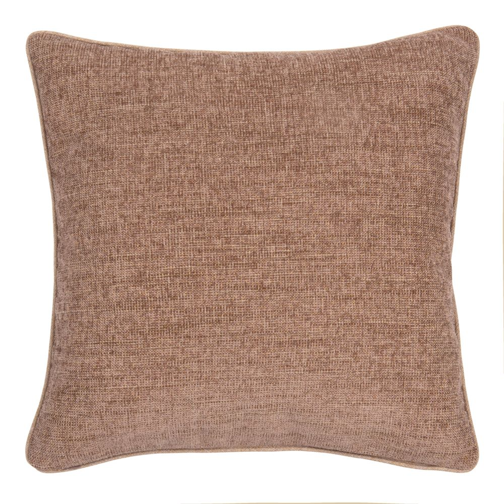Coussin rose chiné 50x50