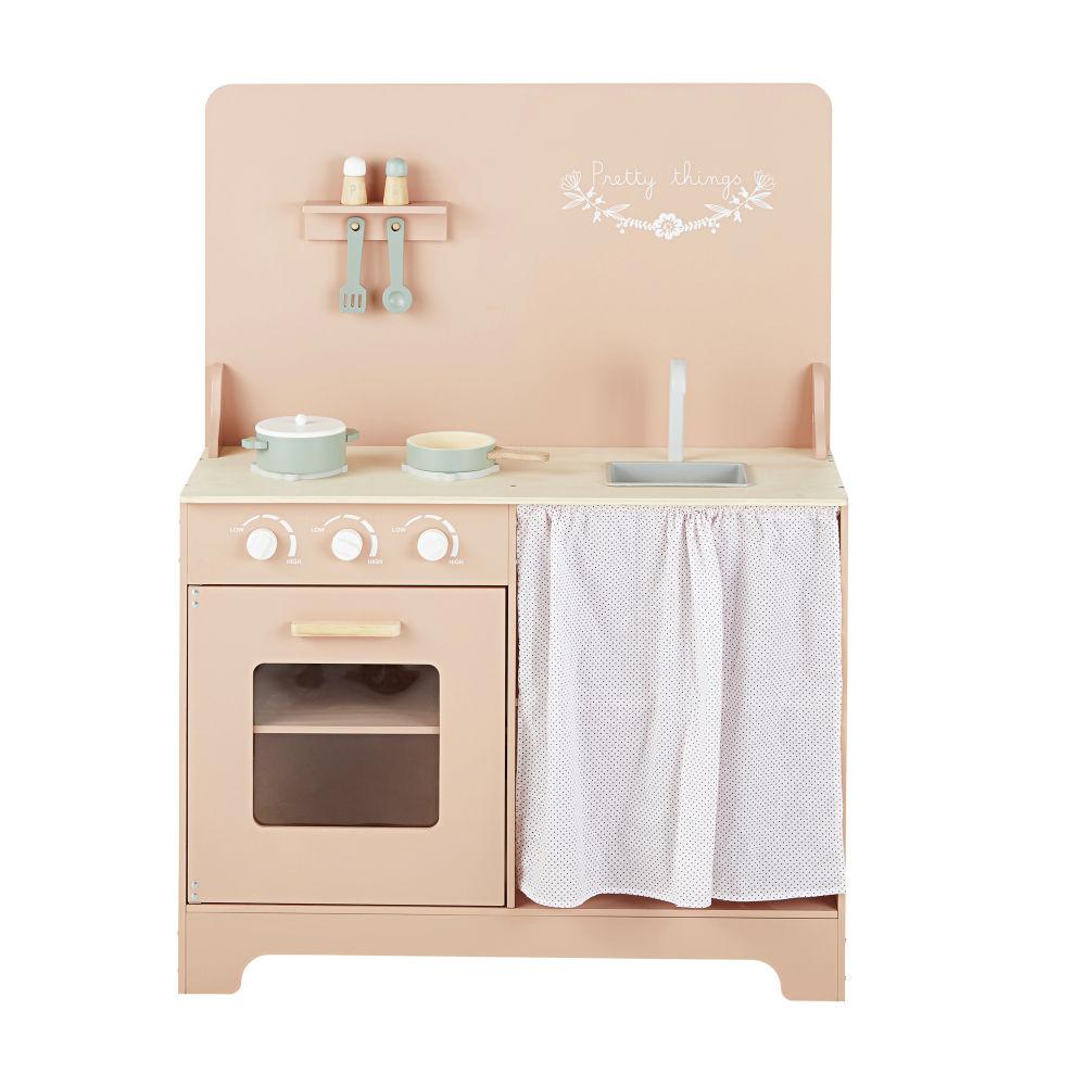 Cuisinière enfant rose