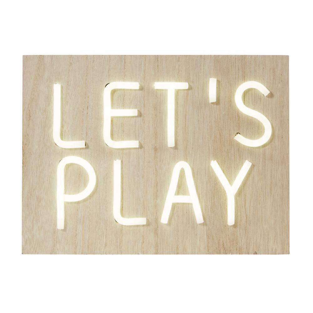 Déco lumineuse let's play