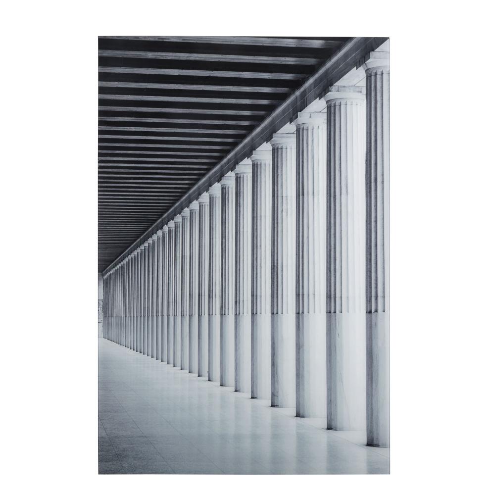 Déco murale colonnes en Plexiglas® 80x120 (photo)