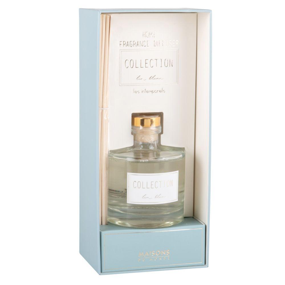 Diffuseur en verre parfum lin blanc 200ML