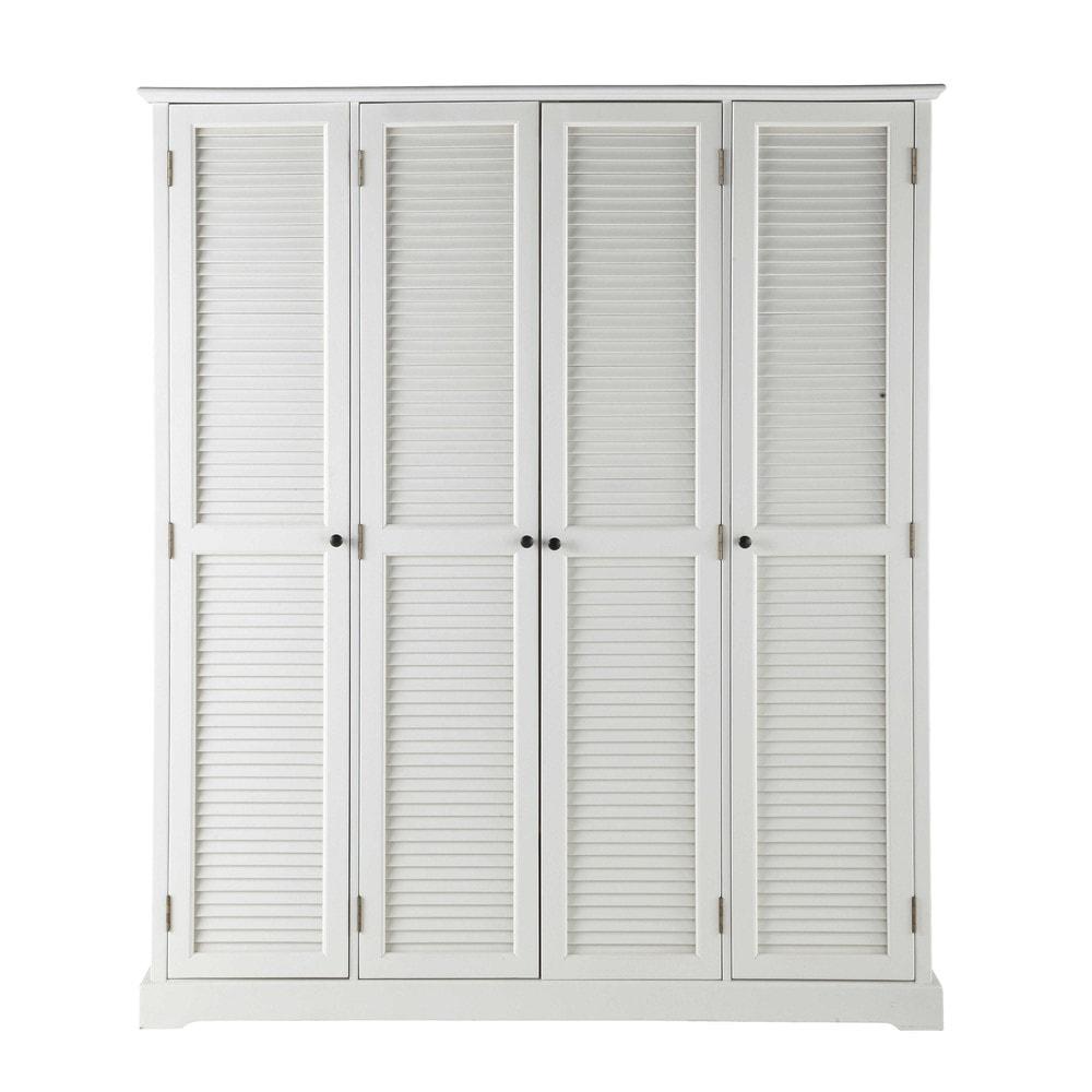 Dressing blanc 4 portes