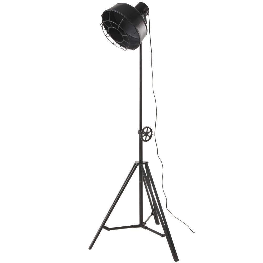 Driepotige Projector Vloerlamp Van Matzwart Metaal H168