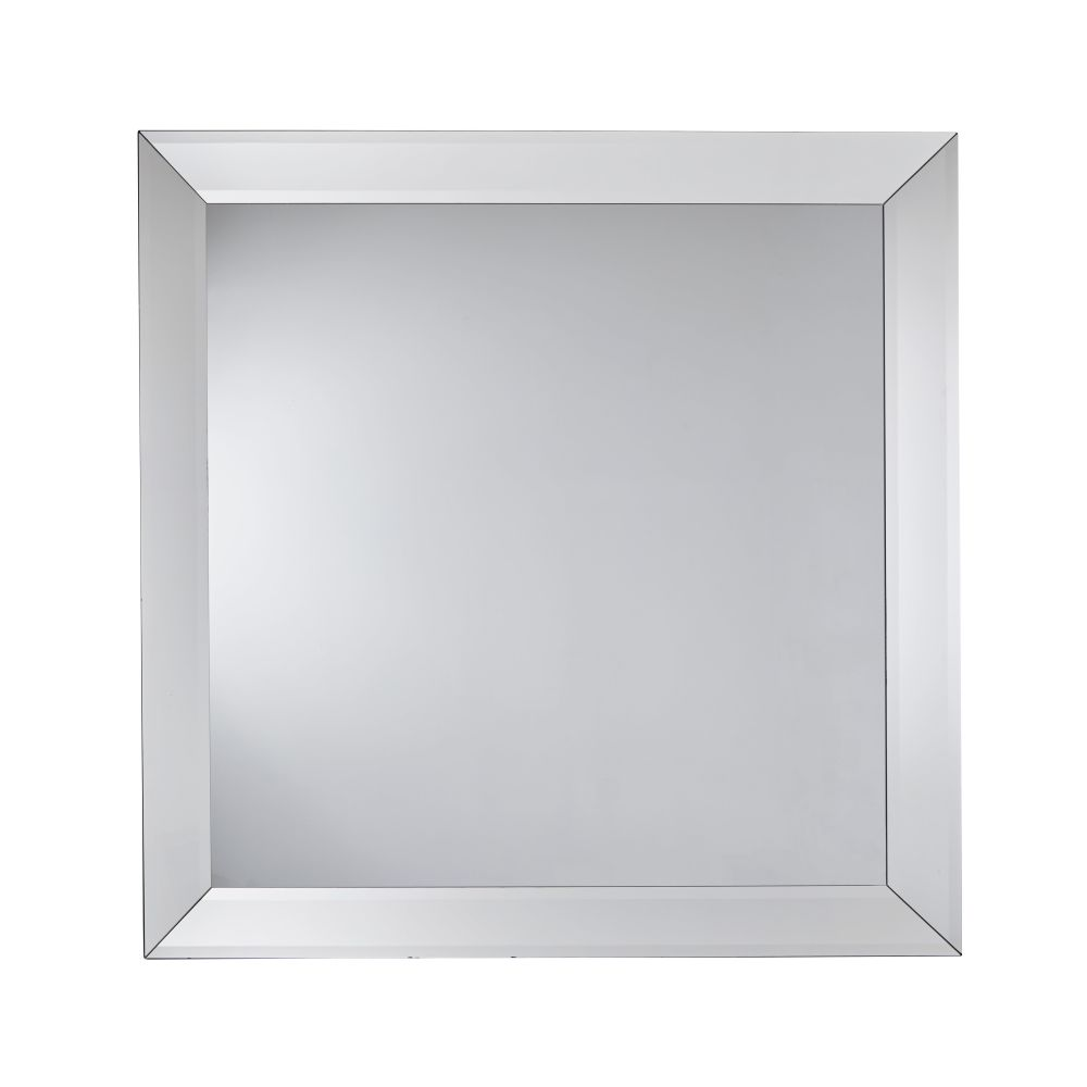 Dubbele Spiegel Met Schuin Geslepen Randen 150 X 150 Cm