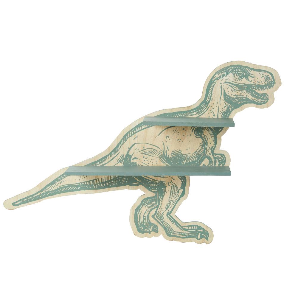Etagère dinosaure vert