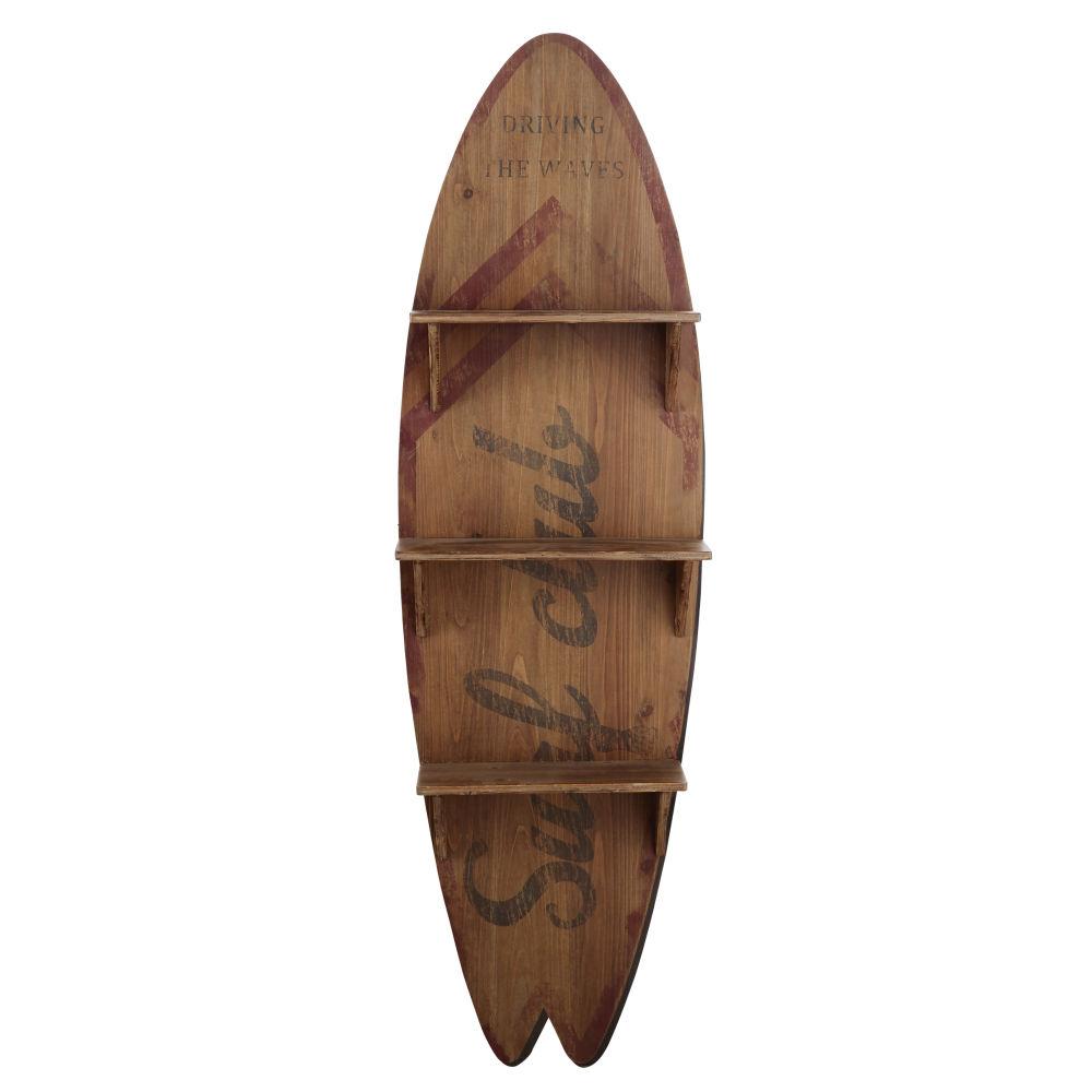Etagère planche de surf avec imprimé