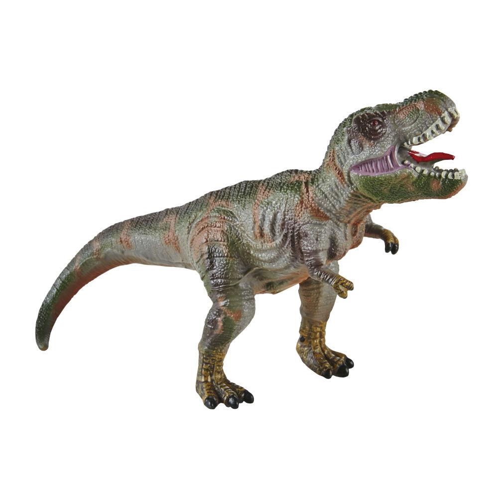 Figurine tyrannosaure verte