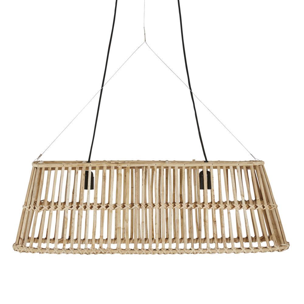 Gevlochten Rotan Hanglamp