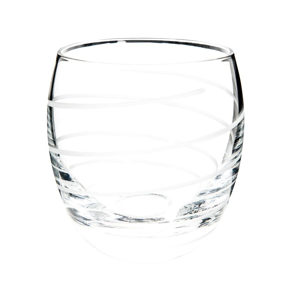 Gobelet taillé en verre